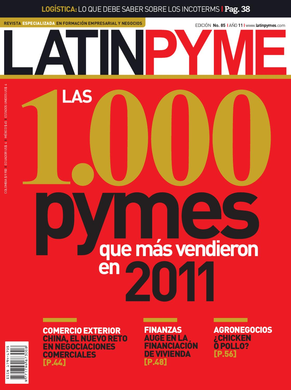 Revista Latinpyme N°85 by LATINPYME - issuu c3ab04d2e12f