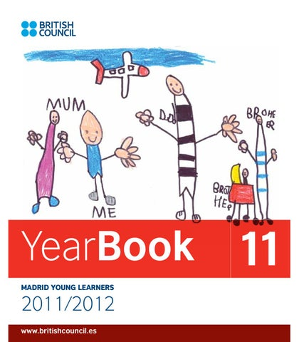 British council madrid young learners yearbook by british council page 1 spiritdancerdesigns Image collections