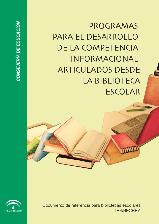 Programas Para El Desarrollo De La Competencia Informacional