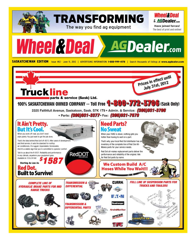 Wheel & Deal Saskatchewan, June 12, 2012 by Farm Business  Communications - issuu