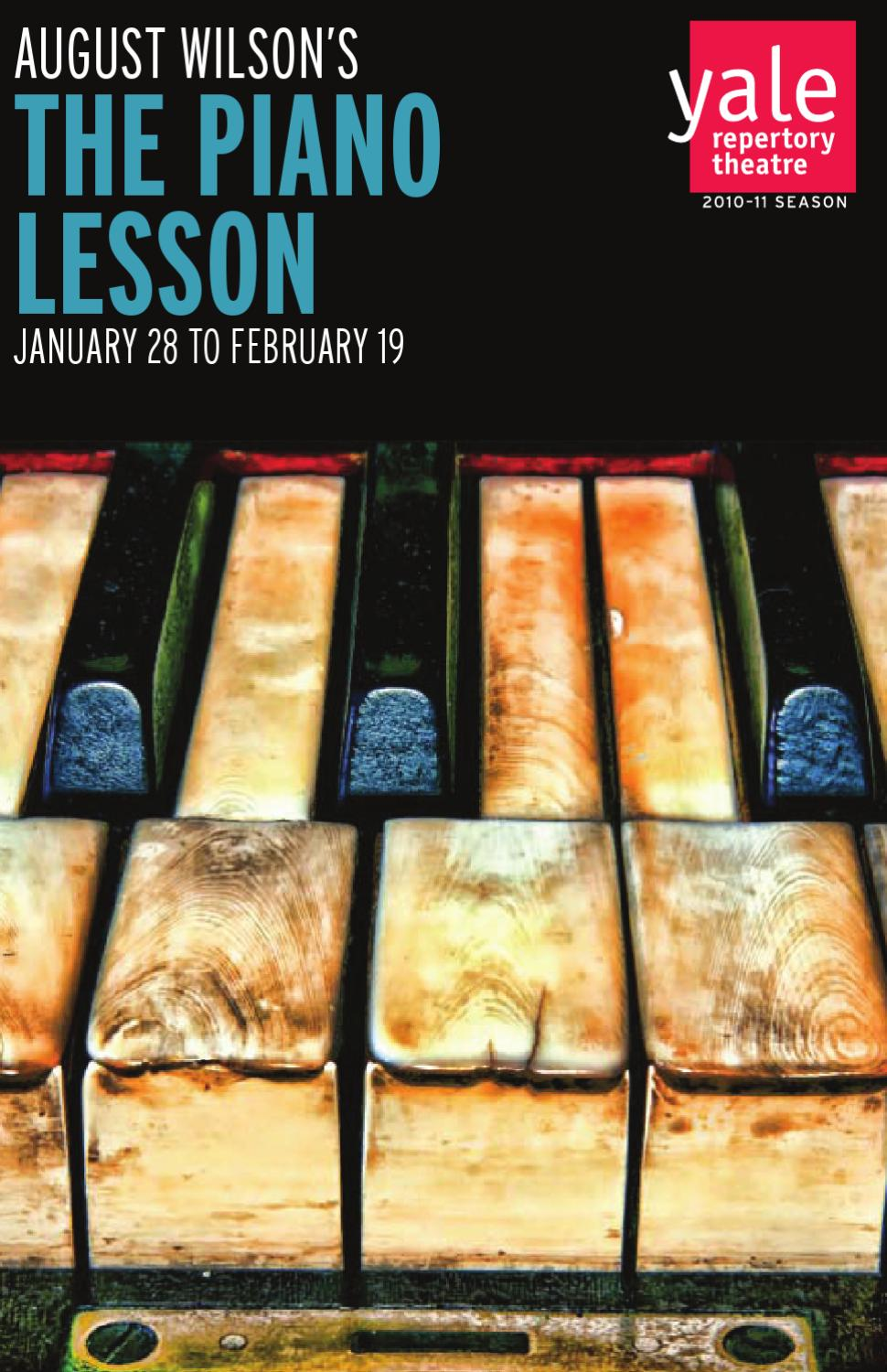 the piano lesson august wilson