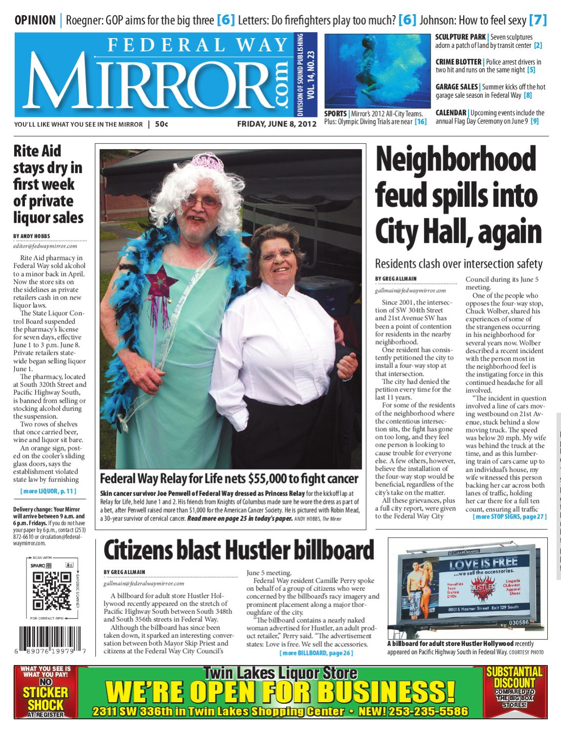 Federal Way Mirror, June 08, 2012 by Sound Publishing - issuu