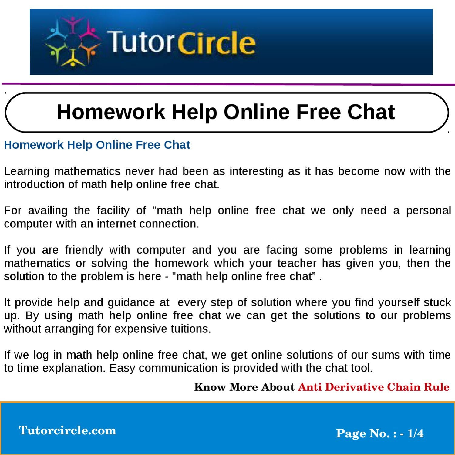 math homework help tutorcircle
