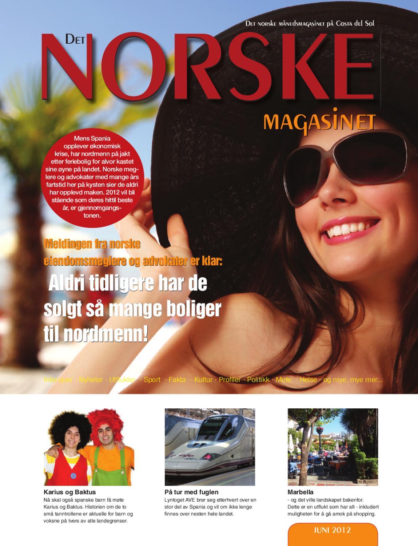 7192cdb246f3 Det Norske Magasinet juni 2012 by Norrbom Marketing - issuu