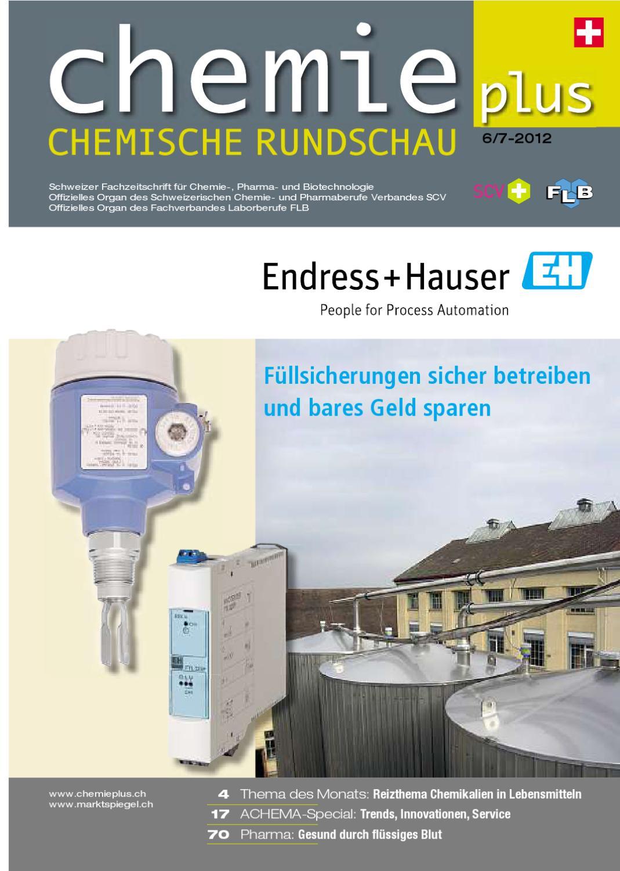 Chemieplus 2012/06-07 by AZ Fachverlage AG - issuu
