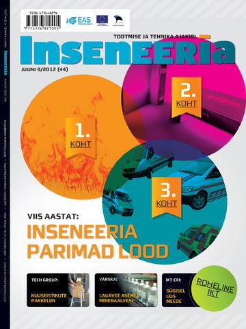 a469656c256 Inseneeria 06 2012 by EAS, Enterprise Estonia - issuu
