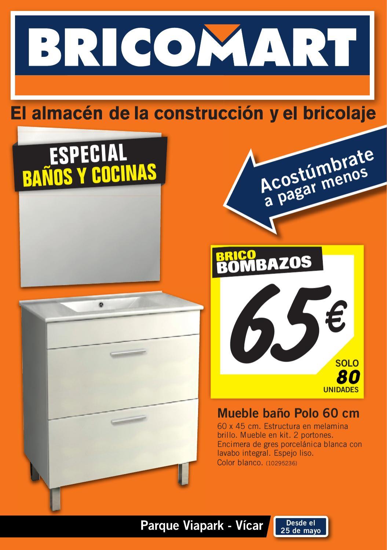Bricomart bricobombazos junio 2012 by for Grifos de cocina bricomart