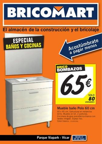 Bricomart bricobombazos junio 2012 by issuu - Muebles bano bricomart ...