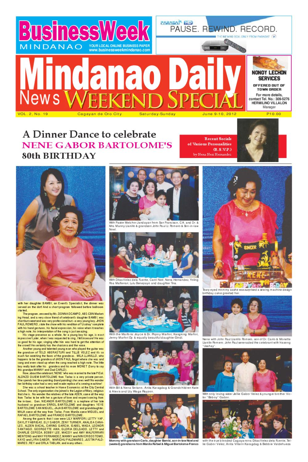 best sell good looking factory authentic MINDANAO DAILY NEWS JUNE 9,2012 by Mindanao Daliy - issuu