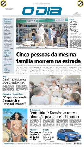 b8d0b44d54 jornal o dia by Jornal O Dia - issuu