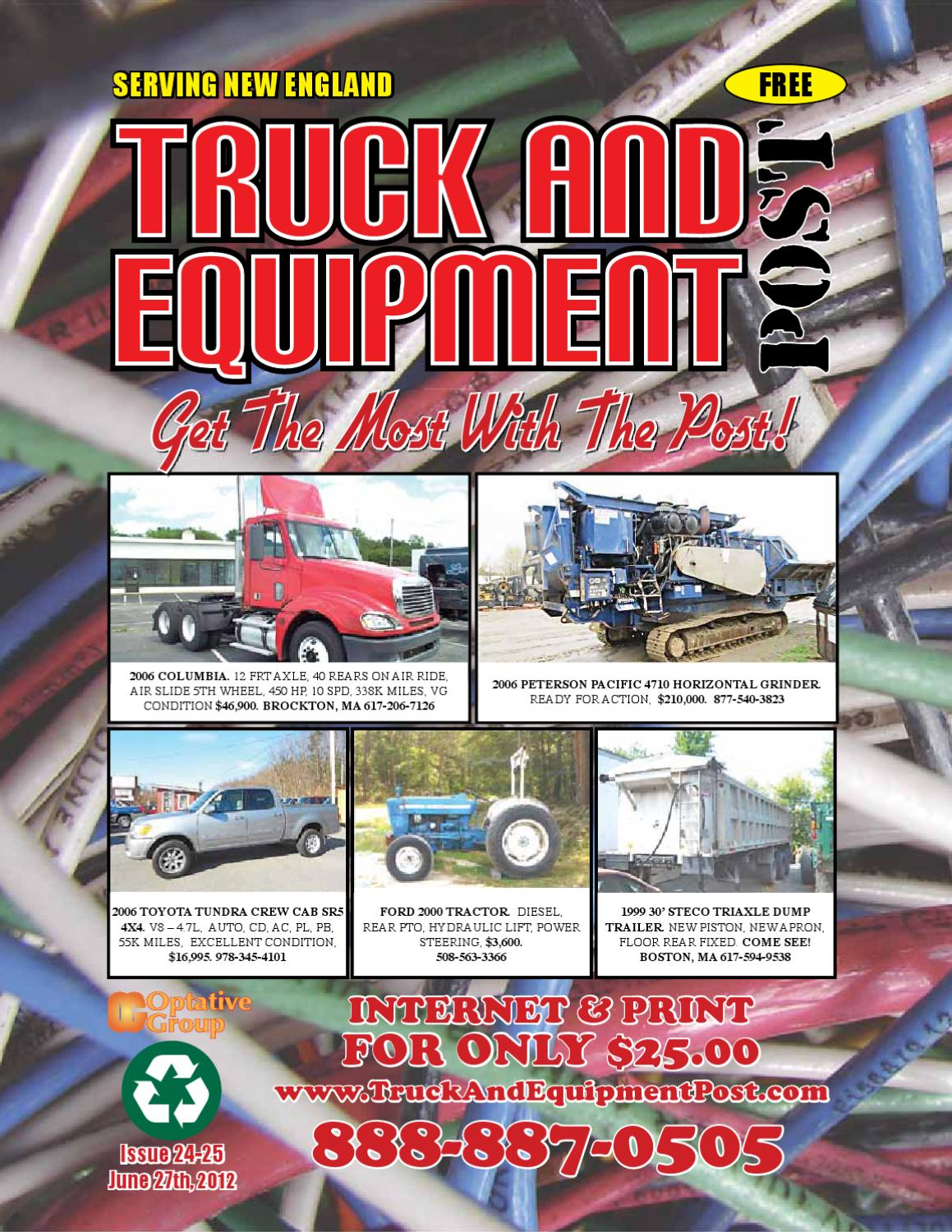 Truck And Equipment Post, Issue #24-25, 2012