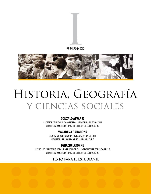 huge discount a0894 4252f Libro Historia Primero Medio by Isabella Toro - issuu