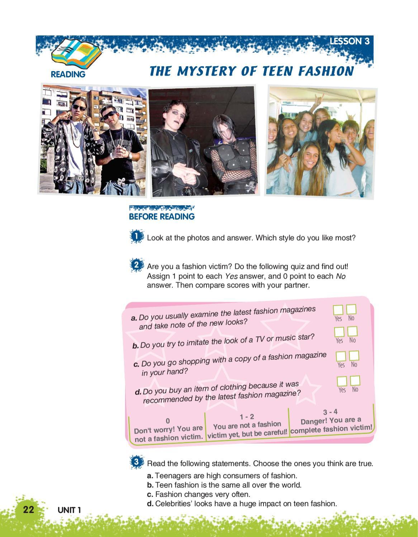 Libro De Ingles Teens Club Primero Medio By Isabella