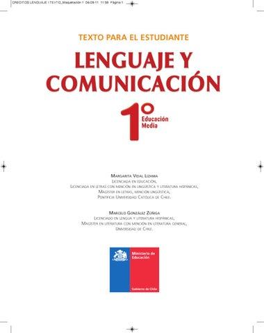 Libro de Lenguaje Primeros Medios by Isabella Toro - issuu