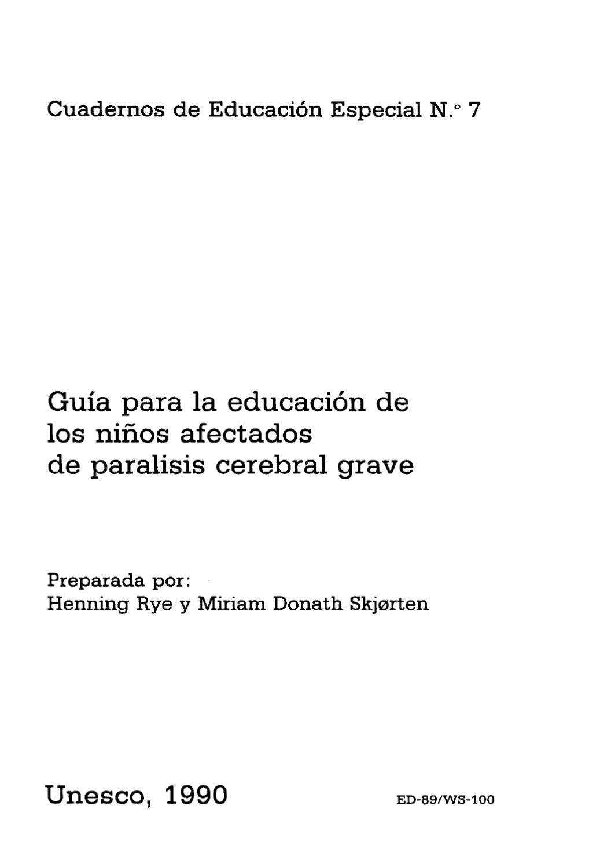 Guia Paralisis Cerebral by Gabriela Demonty - issuu