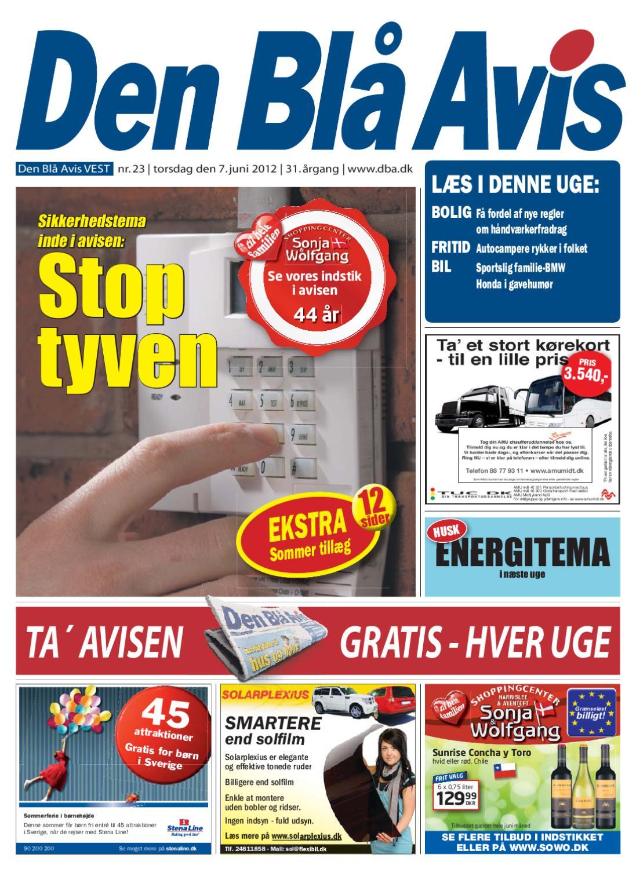 best service b3f77 4dbd7 Den Blå Avis Vest 23-2012 by Anders Vinderslev - issuu