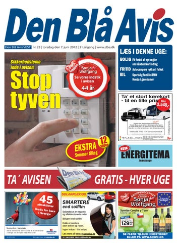best service b6a42 3a05b Den Blå Avis Vest 23-2012 by Anders Vinderslev - issuu