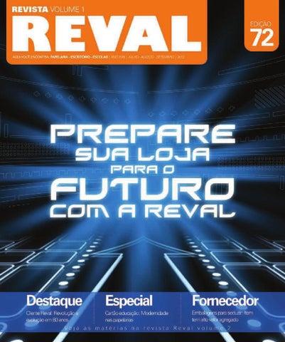 Revista Reval 72 - Volume 1 - Parte 1 by Reval Atacado de Papelaria ... 64d8c49ad973c