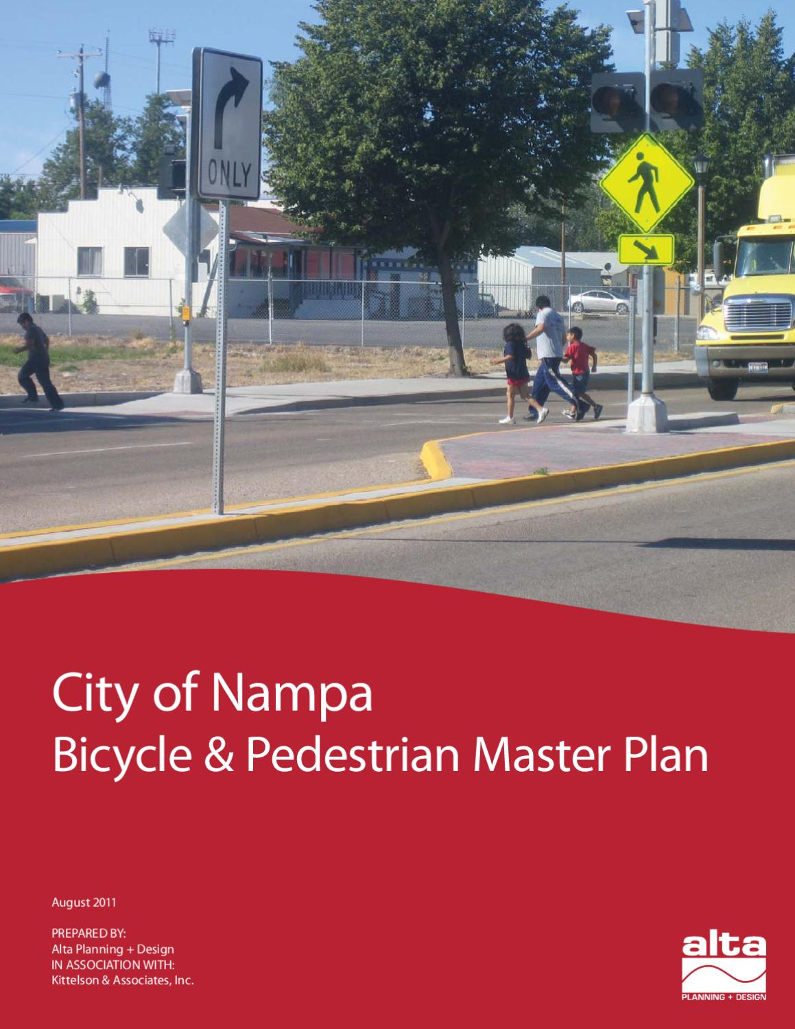 city of nampa bicycle pedestrian master plan by nampa recreation department issuu