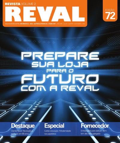 1f6f24ffede Revista Reval 72 - Volume 2 - Parte 1 by Reval Atacado de Papelaria ...
