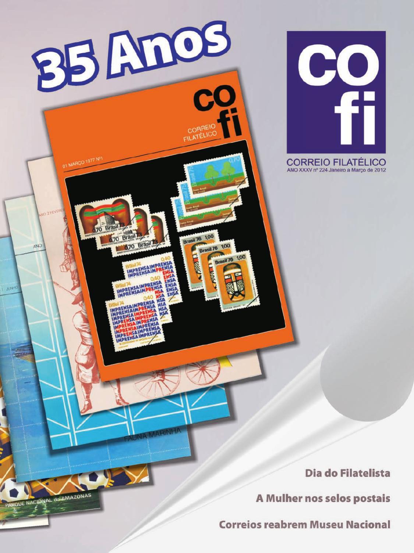 Revista COFI 224 by Correios – Empresa Brasileira de Correios e Telégrafos  - issuu a363f2d9b3494