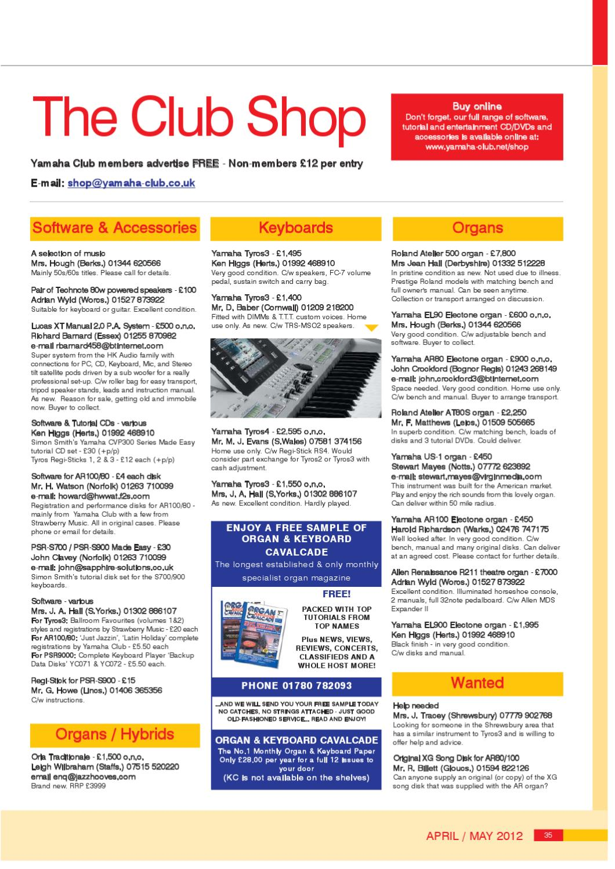 Yamaha Club Magazine April - May 2012 by James Woodcock - issuu