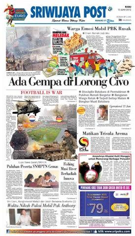 Sriwijaya Post Edisi Rabu 13 Juni 2012 by Yulius Saputra - issuu e568af3f2e