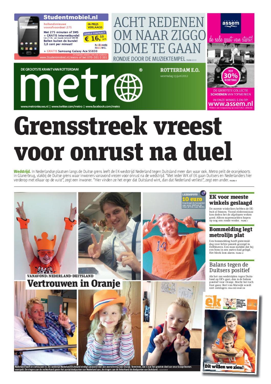 Zitzak Gerard Joling.20120613 Nl Rotterdam By Metro Netherlands Issuu