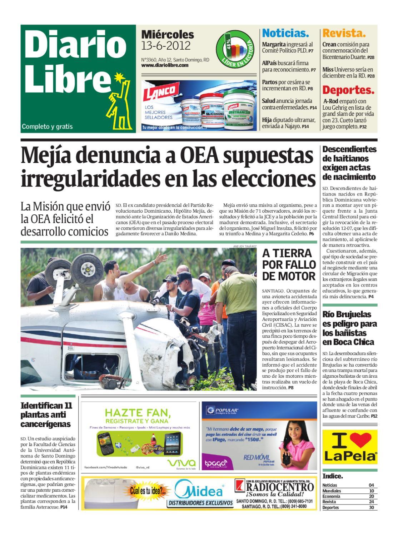 diariolibre3360 by Grupo Diario Libre, S. A. - issuu