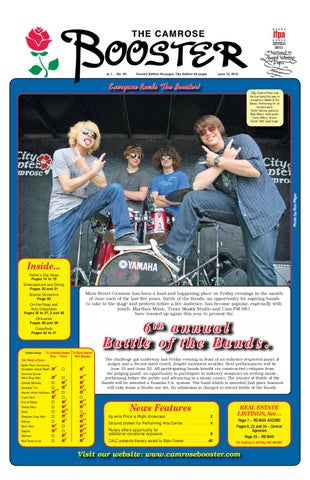 The Camrose Booster June 13 2012 By