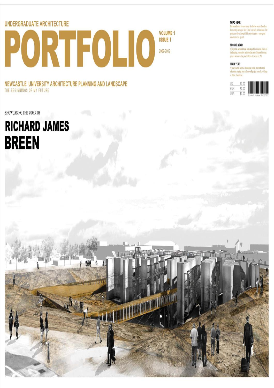 Ba hons final architecture portfolio newcastle university by richard breen issuu for Cornell interior design undergraduate
