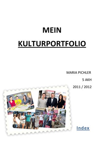 isu portfolio