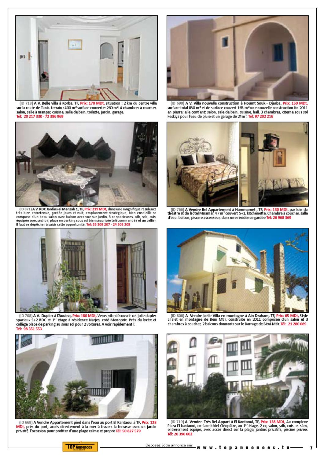 Top Annonces Magazine Mai 2012 by Mohamed Arafet Ben ...