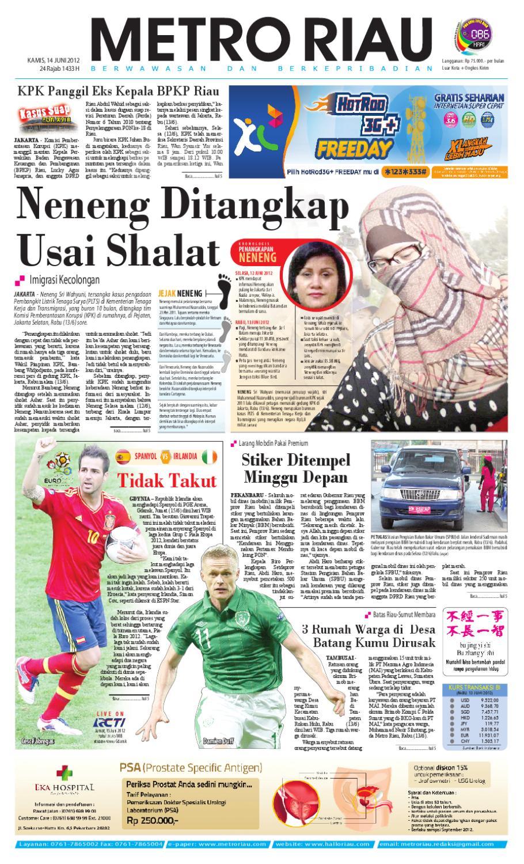 14062012 Metroriau By Harian Pagi Metro Riau Issuu Produk Ukm Bumn Gaun Putih Maya Raisa Kebaya