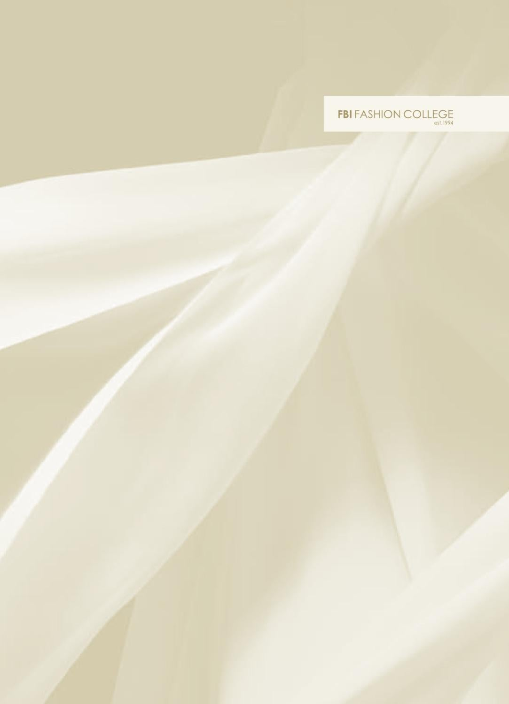 Fbi Fashion College Brochure By Alexandra Hine Issuu