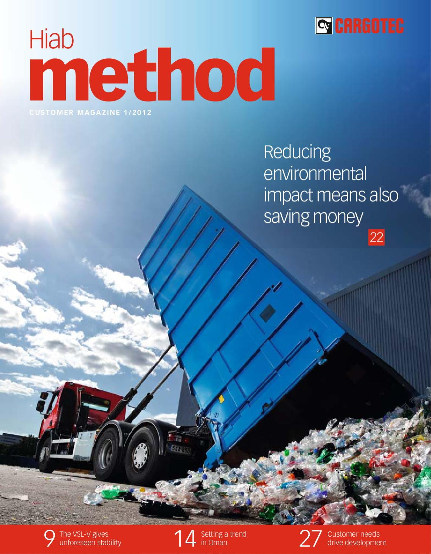 HIab Method 1/2012 in english, Cargotec customer magazine by Cargotec -  issuu