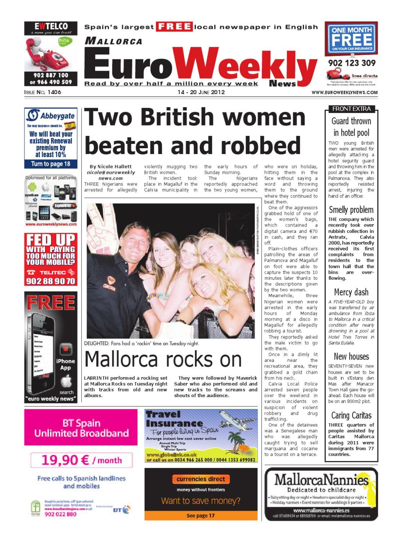 Mallorca 14 20 June 2012 Issue 1406 By Euro Weekly News Media  # Muebles Fenda Murcia