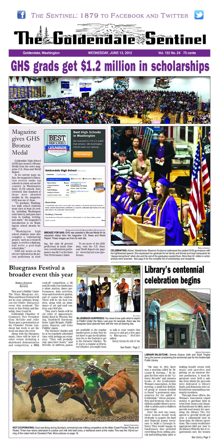 The Goldendale Sentinel June 13 Issue by The Goldendale