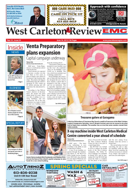 0d3817c8b West Carleton Review EMC by Metroland East - West Carleton Review - issuu