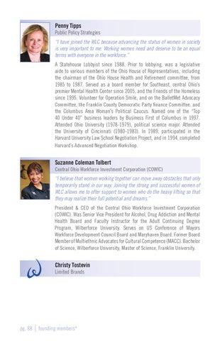 Women's Leadership Council 2012 Members Directory