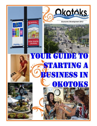 Starting a business guide by town of okotoks issuu page 1 reheart Images