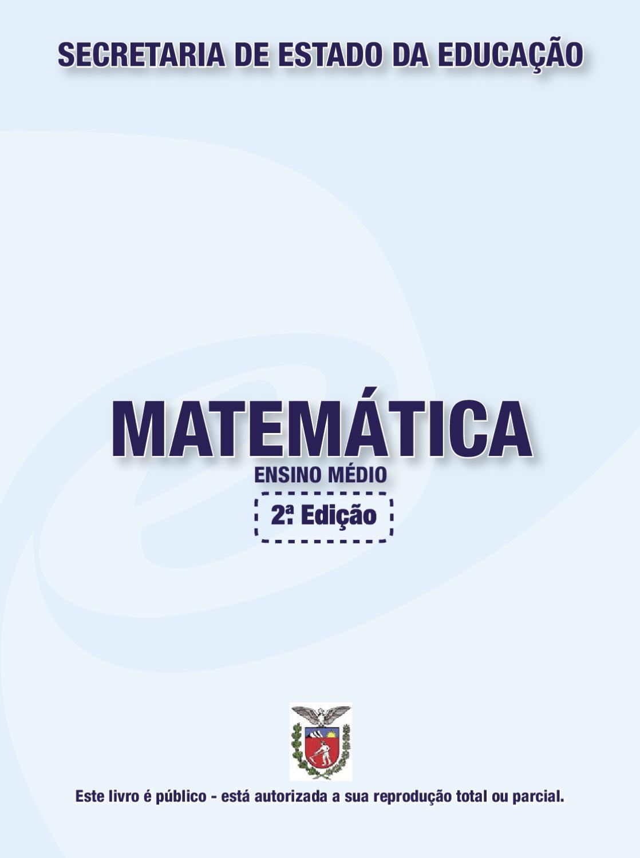 895a3c56a30 Livro Didatico Matematica - Ensino Medio by Carlos Silva - issuu