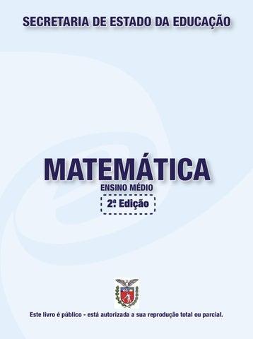 Livro didatico matematica ensino medio by carlos silva issuu page 1 fandeluxe Choice Image