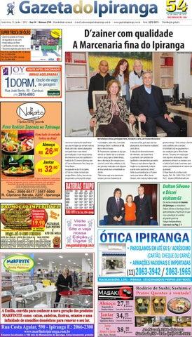 Gazeta do Ipiranga - Edição de 15 06 2012 by Casé Oliveira - issuu 6efa8925bd