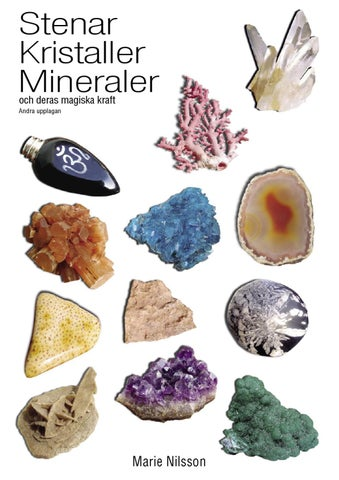 svenska stenar och mineraler
