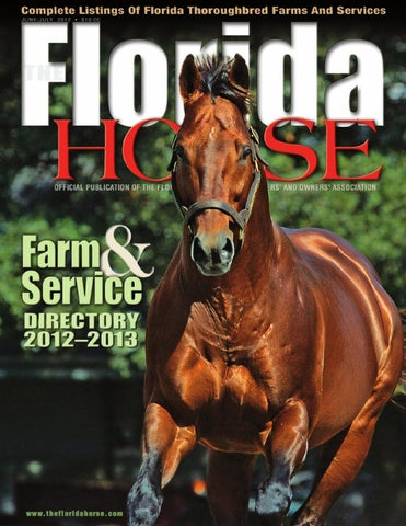 Florida horse 2012 june/july directory by florida equine.