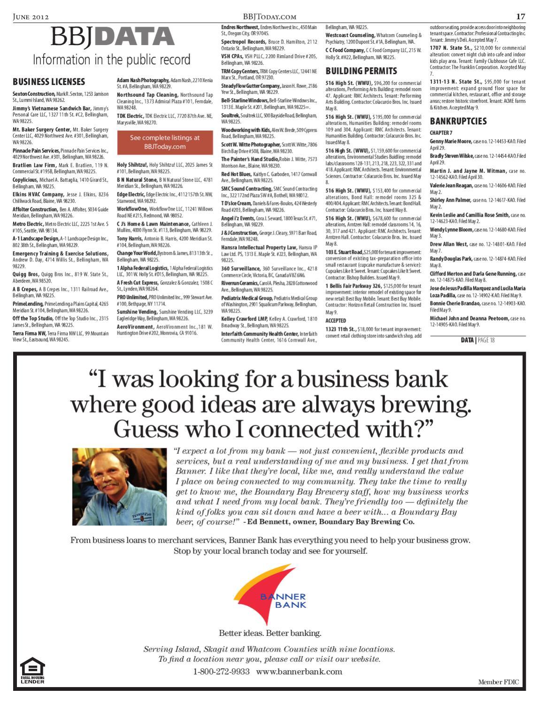 bellingham business journal  june 04  2012 by sound publishing