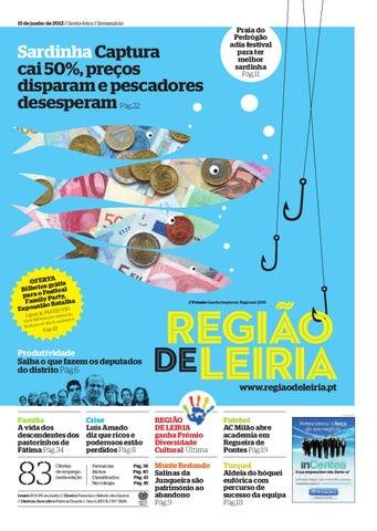 3b16da937 Região de Leiria 15 de junho 2012 by Região de Leiria Jornal - issuu