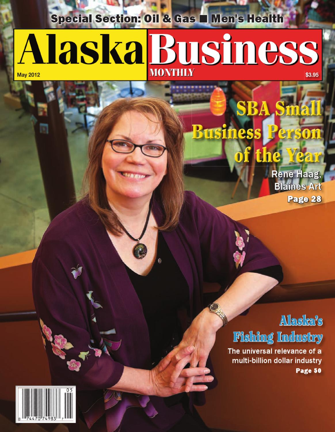 May 2012 Alaska Business Monthly By Issuu Lobor Lb A1312 Dial Swarovski Stainless