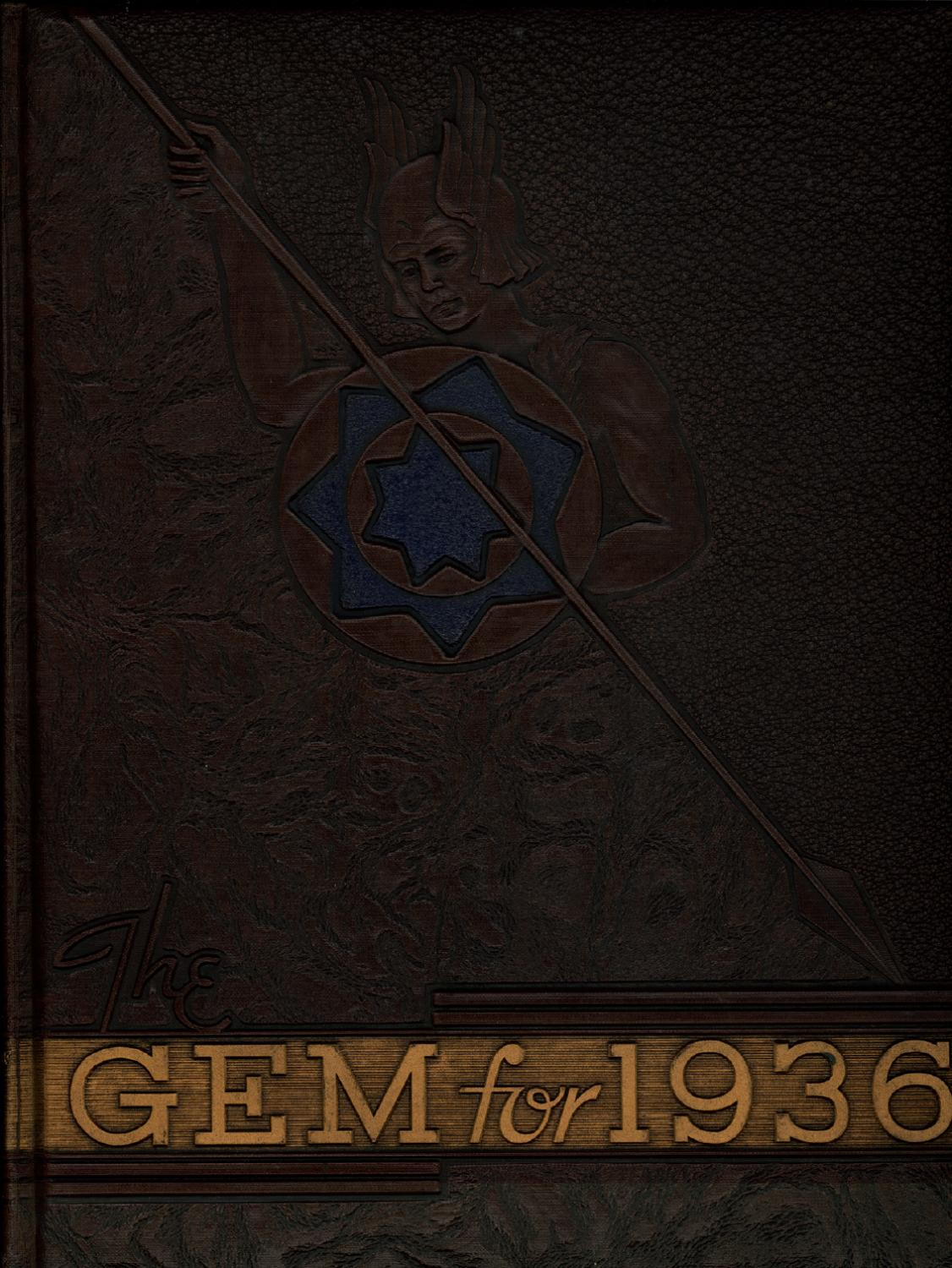 1936 Gem Of The Mountains Volume 34 University Idaho Yearbook Vo Tri 2gb By Library Issuu